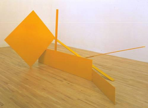 Yellow Swing 1965 by Sir Anthony Caro born 1924