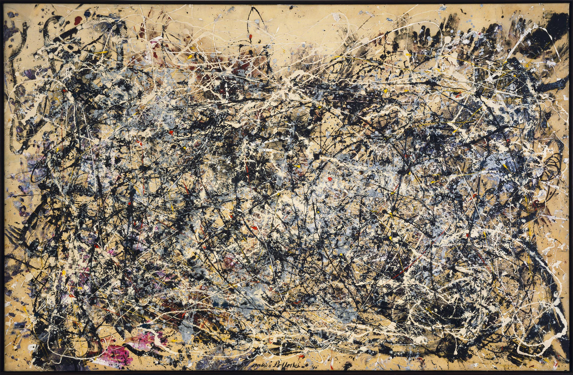 the king of american painting is created jackson pollock 1912 number 1 1948 pollock