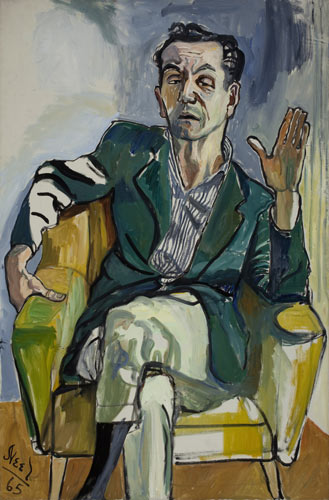alice-neel-painting-frank-gentile-1965-oil-on-canvas